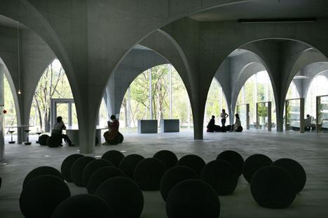 Pritzker Prize 2013 winner Toyo Ito: Tama Art University Library (Hachiōji campus), 2004—2007, Hachioji-shi, Tokyo, Japan. Photo by Tomio Ohashi.