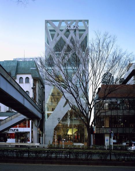 Pritzker Prize 2013 winner Toyo Ito: OD'S Omotesando Building, 2002—2004, Shibuya-ku, Tokyo, Japan. Photo by Nacasa & Partners Inc.