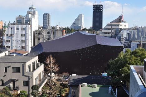 Pritzker Prize 2013 winner Toyo Ito: Za-Koenji Public Theatre, 2005—2008, Suginami-ku, Tokyo, Japan.