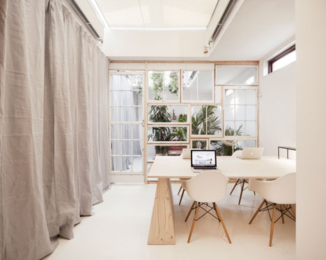 Dezeen offices by Post-Office
