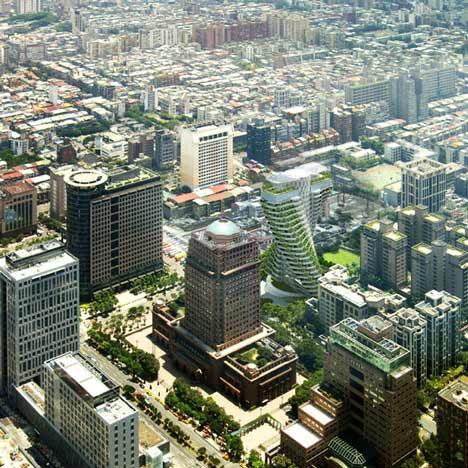 Agora Garden by Vincent Callebaut Architectures