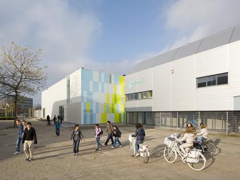 De Rietlanden Sports Hall by Slangen + Koenis Architects