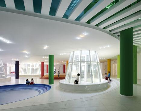 Loop Kindergarten in Tianjin by SAKO Architects