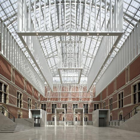 Rijksmuseum by Cruz y Ortiz Arquitectos and Jean-Michel Wilmotte