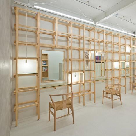Salon and spa interior design dezeen - Salon interieur design ...