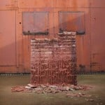 A Pound of Flesh for 50p (study) by Alex Chinneck