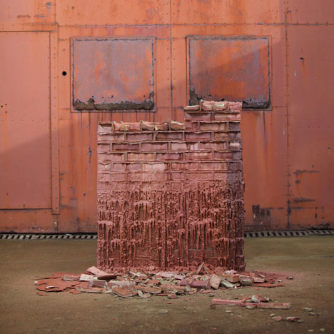 A Pound of Flesh for 50p by Alex Chinneck
