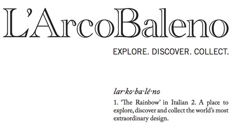 Ambra Medda launches L'ArcoBaleno