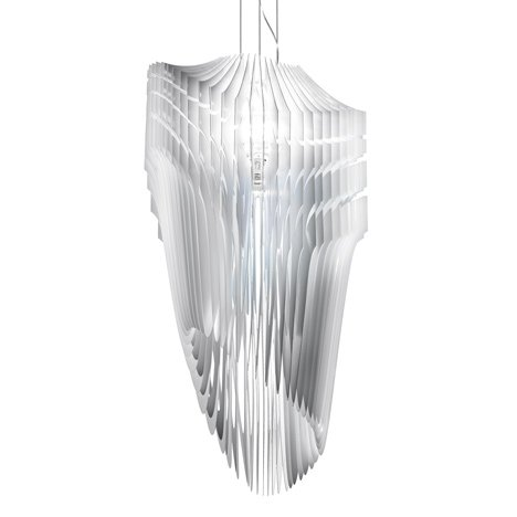 Aria and Avia lamps by Zaha Hadid for Slamp