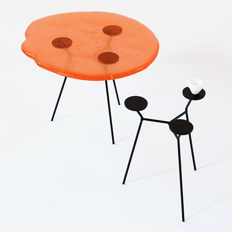 Austerity edible furniture by Lanzavecchia and Wai