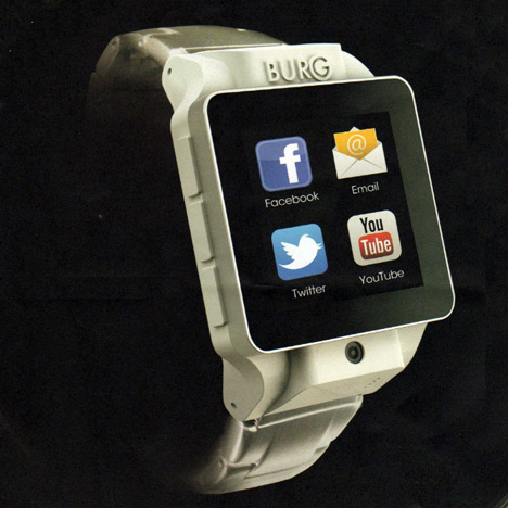 Burg 17 Android watch by Burg