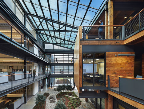 Federal Center South Building 1202 by ZGF Architects LLP