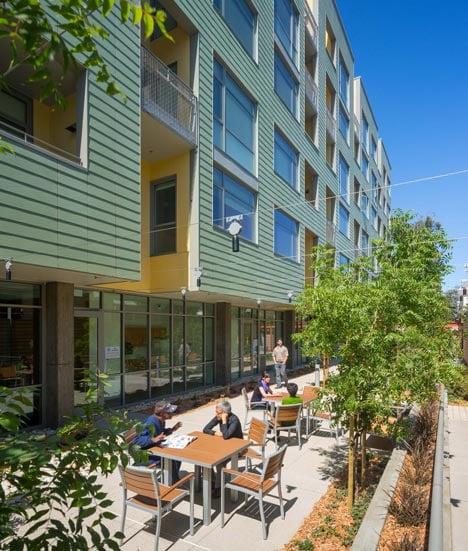 Merritt Crossing Senior Apts. by Leddy Maytum Stacy Architects