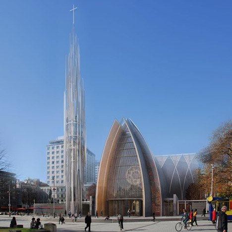 "Critics reject ""clumsy"" proposals for earthquake-hit Christchurch cathedral"