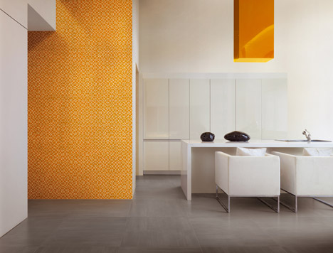 Cromie tiles by Refin in Milan