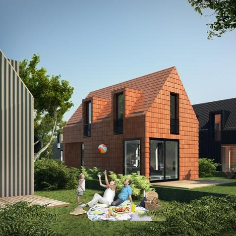 Dutch city helps first-time buyers build their own homes