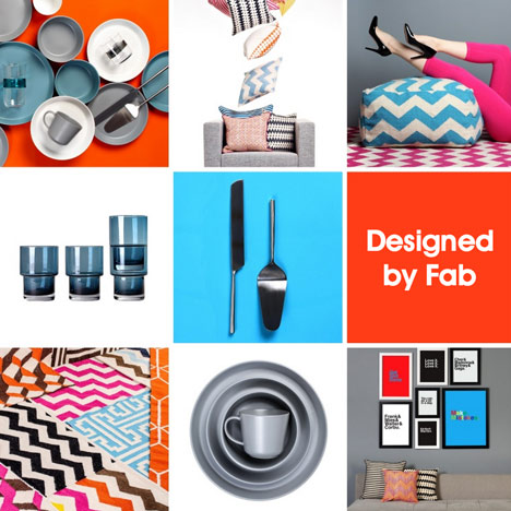 Fab.com to design its own range of products