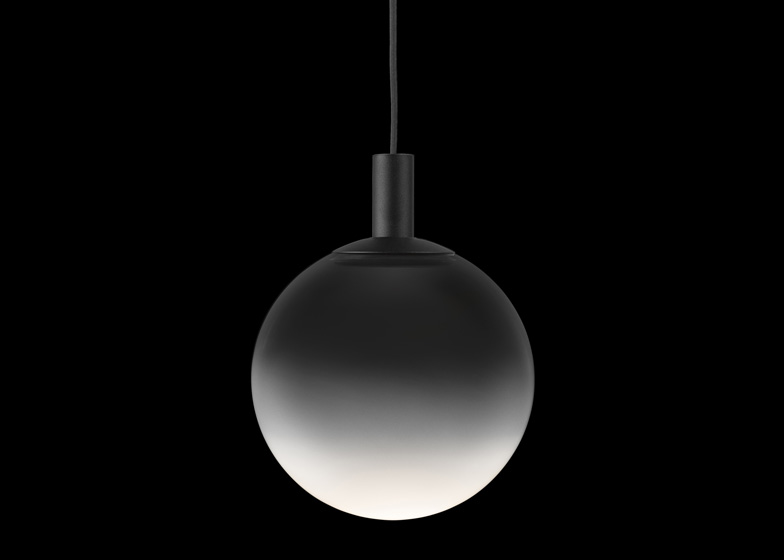 Fog for Zero is a globe-shaped lamp with a frosted glass exterior, intended to look like mist.