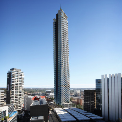 Grimshaw submits plans for Australian skyscraper