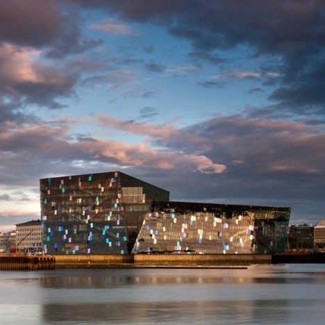 Harpa Concert and Conference Centre by Henning Larsen Architects Batteriid Architects and Olafur Eliasson