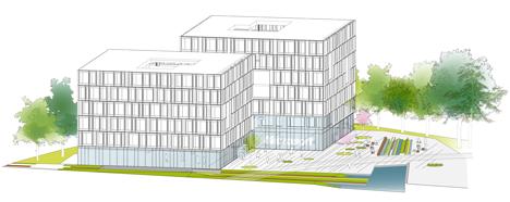 Henning Larsen plans Microsoft headquarters outside Copenhagen