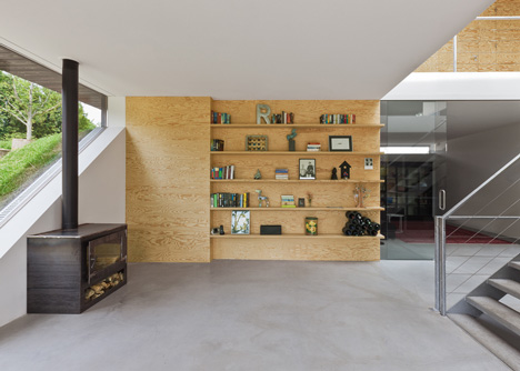 Genial ... Villa Bloemendaal Is A Two Storey Residence Completed By Dutch Firm  Paul De Ruiter Architects In 2011. I29u0027s Role Was To Detail The Interiors  ...