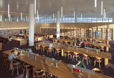 James B Hunt Jr Library by Snohetta