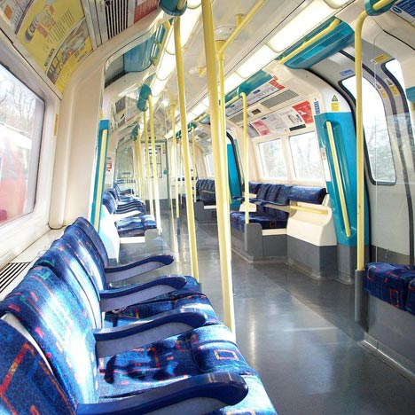 Jubilee Line Tube carriage, photo by Andy Wilkes