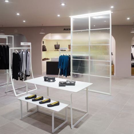 La Rinascente womenswear department by Nendo
