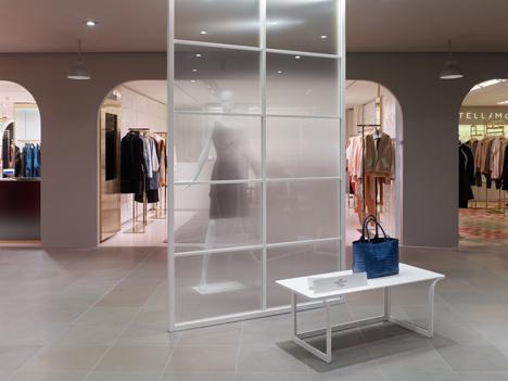 La Rinascente womenswear department by Nendo