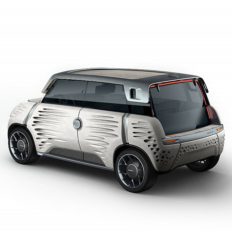 ME.WE concept car by Toyota and Jean-Marie Massaud