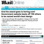 Mail Online attackes Gov.uk