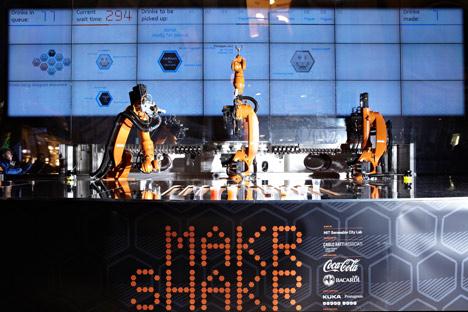 Makr Shakr by Carlo Ratti and MIT Senseable City Lab