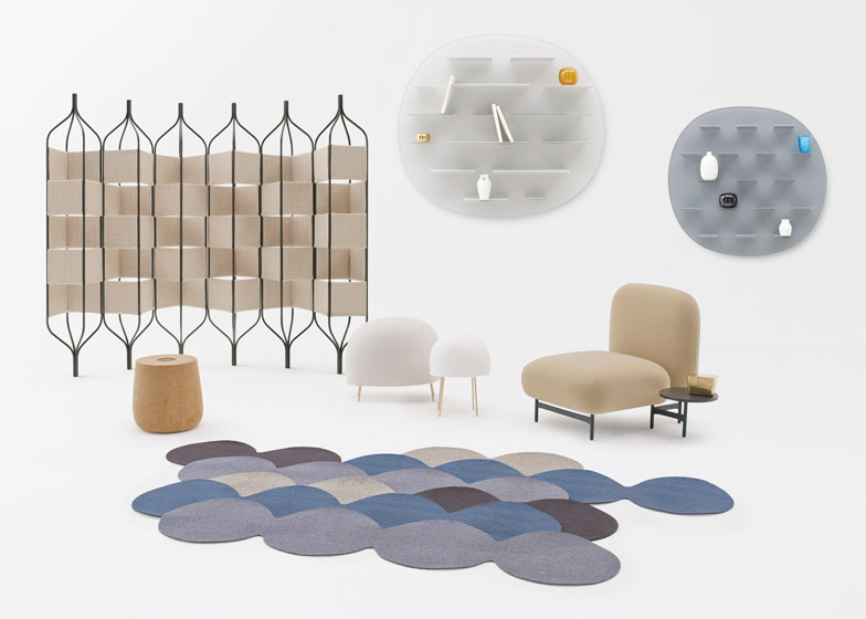 Nichetto=Nendo collection of seven products will be exhibited in Milan next week