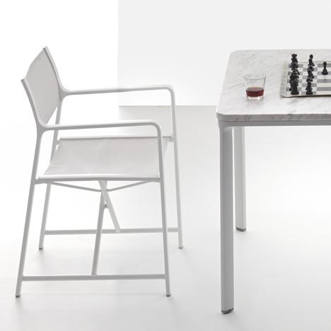 Park Life folding armchair by Jasper Morrison for Kettal