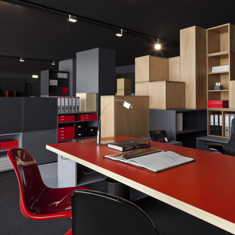 Project: Office for Living by Jean Nouvel