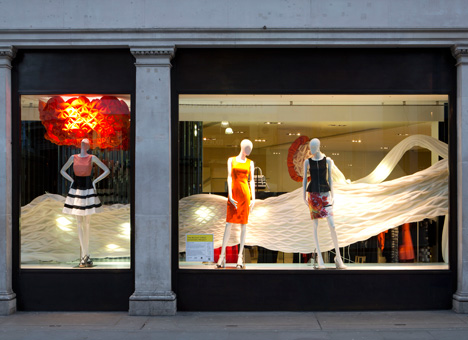 RIBA Regent Street Windows 2013