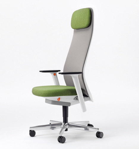 office chair design. Riya Office Chair By PearsonLloyd For Bene Design O