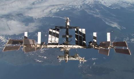 Shepard Fairey designs International Space Station badge