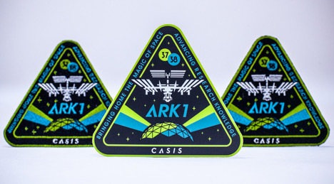 Shepard Fairey designs International Space Station badge