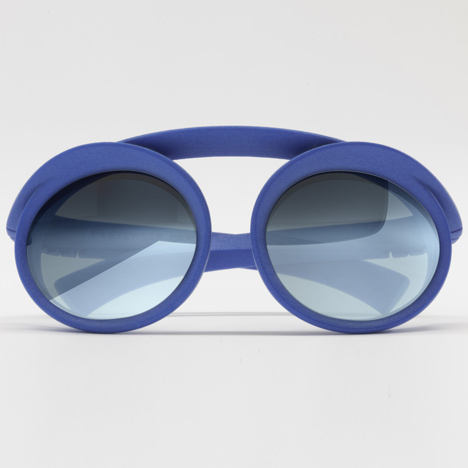 Springs 3D-printed glasses by Ron Arad for pq