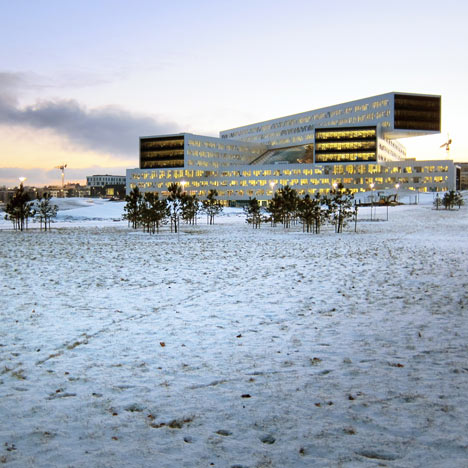 Statoil regional and international<br /> offices by A-Lab