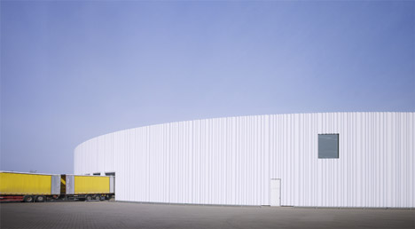 Factory Building on the Vitra Campus by SANAA