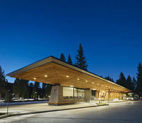 Tahoe City Transit Center by WRNS Studio