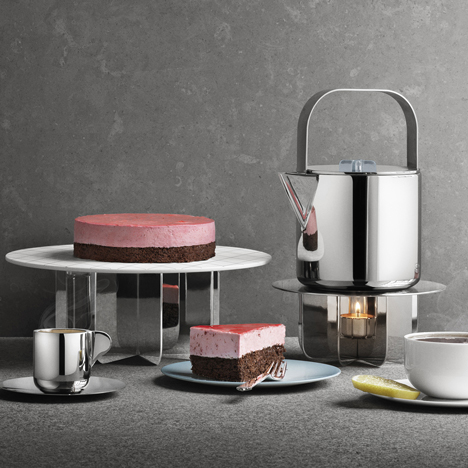 Tea with Georg by Scholten & Baijings for Georg Jensen