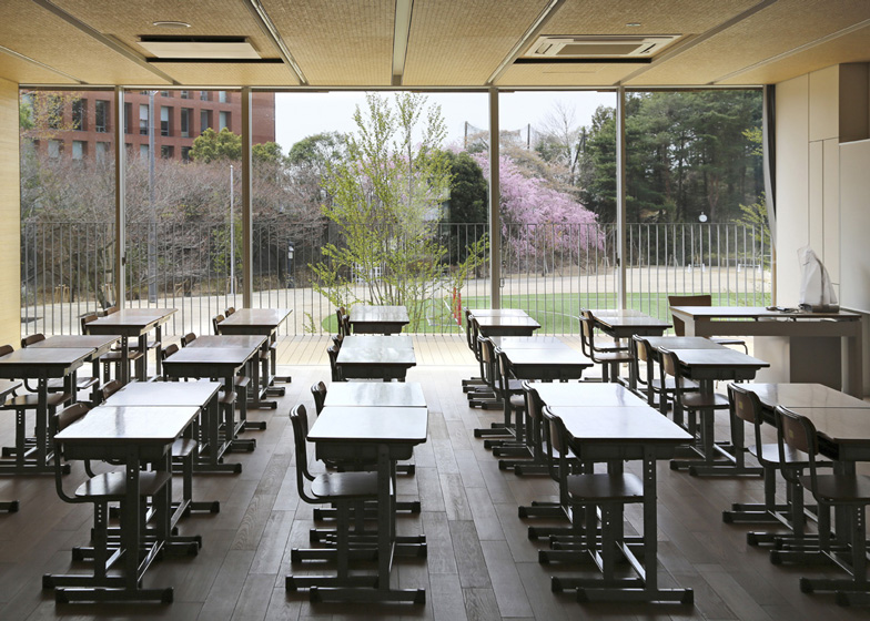 Modern School And Design In Japan