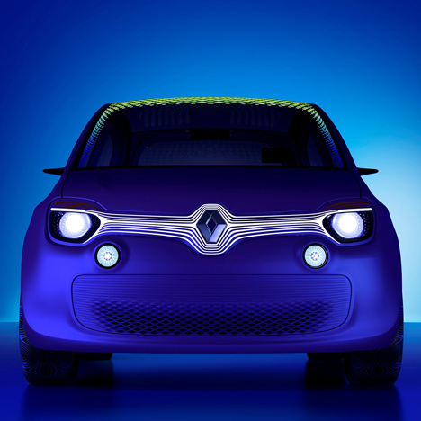 Twin'Z concept car by Ross Lovegrove for Renault