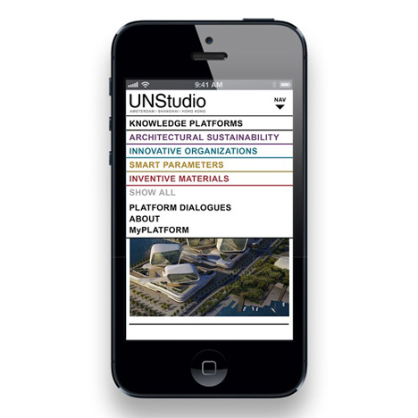 "UNStudio announces relaunch as ""open source"" architecture studio"