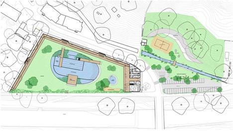 Work starts on Herzog and de Meuron's Naturbad Riehen swimming pool
