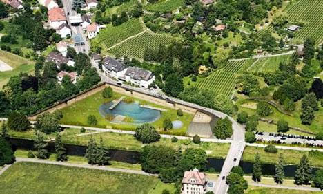 Work starts on Herzog & de Meuron's Naturbad Riehen swimming pool